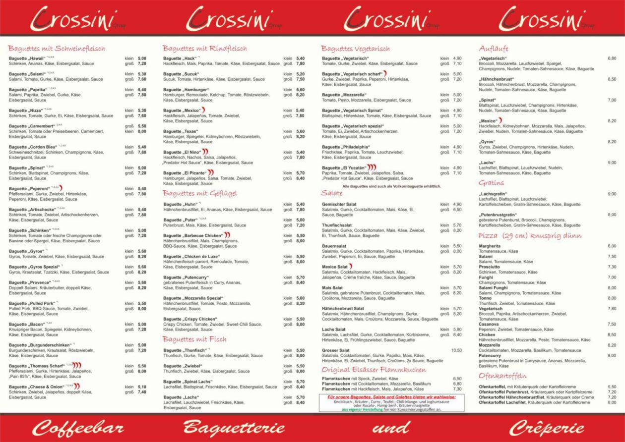 Speisekarte Crossini Horn Stand 01.07.2020 INNEN (02.04.2021)